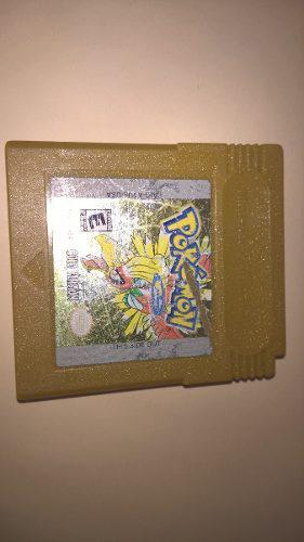 Juego Pokemon Gold Version Game Boy
