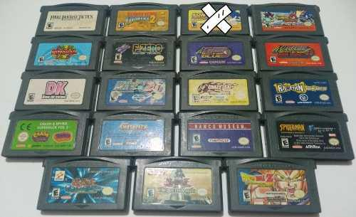 Juegos Originales Game Boy Advance