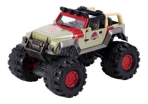 Jurassic World Jeep 93 Wrangler Nuevo Matchbox Facturamos!!