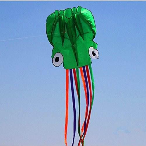 Kengel Polyester Kite Con 120 Pies De Hilo Y Cadena Winder G