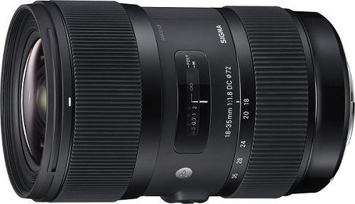 Lente Sigma mm F/1.8 Art Dc Hsm Para Cámara Canon