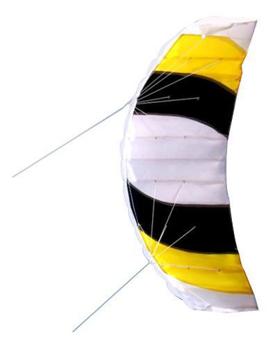 Línea Dual Stunt Parafoil Kite Deportes Al Aire Libre Fun