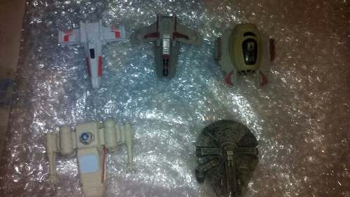 Lote De Naves Star Wars Miniatura