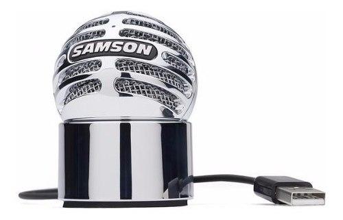Micrófono Portatil De Condensador Usb Samson Meteorite