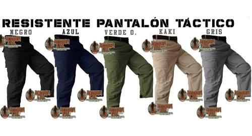 Pantalon De Bolsas Tactico Comando Ripstop Policia Seguridad