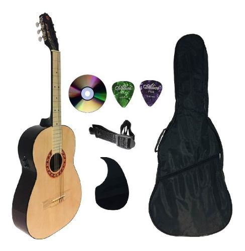 Paquete Completo Guitarra Brx Electroacústica Varios