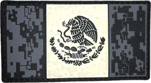 Parche Caucho Bandera De México Colores