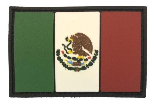 Parche Caucho Bandera Mexico Nueva Disposicion Ejercito Mx
