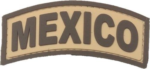 Parche Caucho Puente Mexico Cafe Nueva Disposicion Ejercito