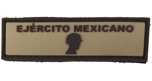 Parche De Caucho Gafete Ejercito Mexicano Desierto