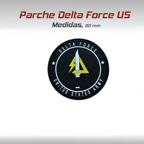 Parche Delta Force Usa Eu Tactico Militar Gotcha Paintball