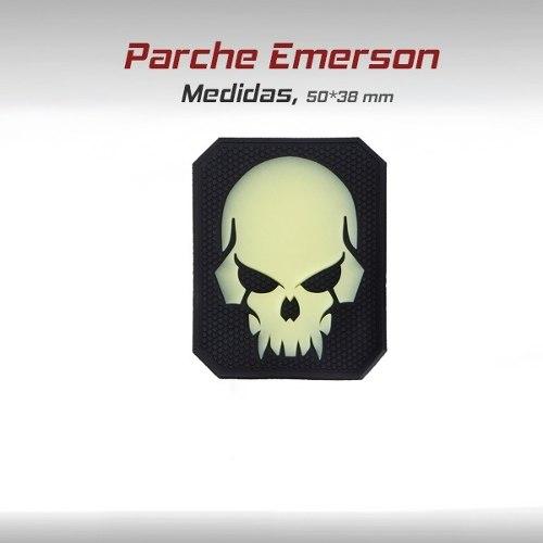 Parche Emerson Pvc Tactico Militar Gotcha Paintball Craneo