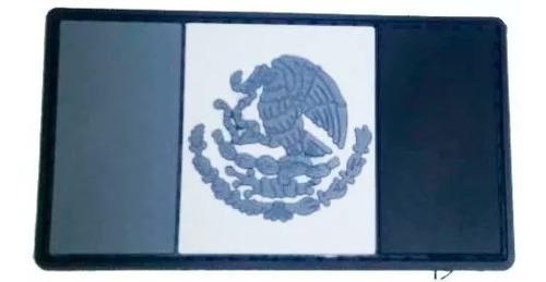 Parche Pvc 3d Bandera Mexico Color O Usa Black Ops Uniforme