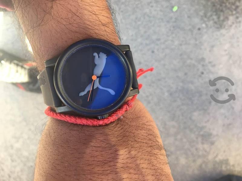 Reloj PUMA color negro