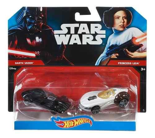 Retromex Hot Wheels Star Wars Darth Vader & Leia