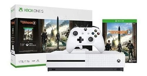 Xbox One S, 1tb + The Division 2 - Bundle Edition