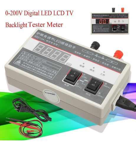 220v / 50hz Digital Led Lcd Tv Luz De Fondo Ensayador Metro