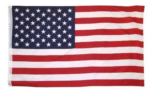 Bandera De Estados Unidos 1.5m X 90cm Usa Resistente Lavable