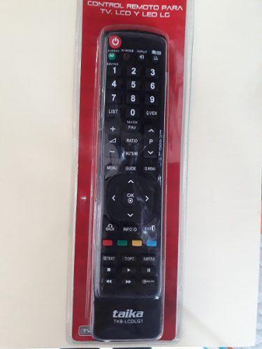 Control Remoto Lcd, Led Tv Lg
