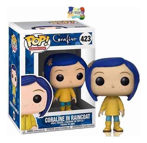 Coraline Chaleco Impermiable Funko Pop Pelicula Coraline Cf