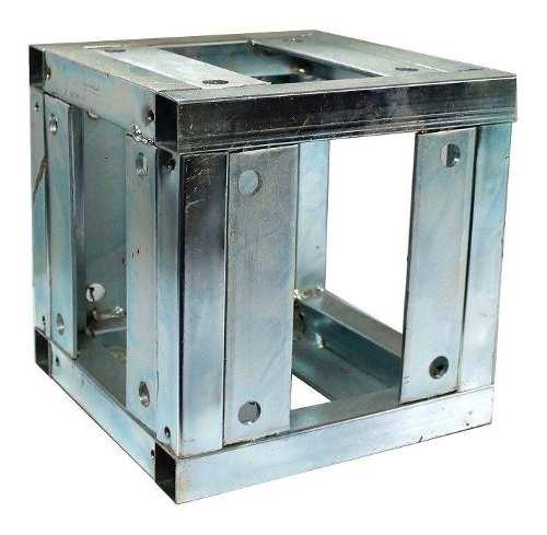Cubo Cople Union Para Estructura De 20x20 Acero Galvanizado