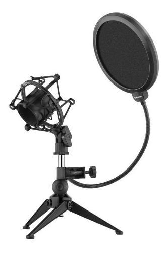 Filtro Anti Pop Para Microfono Profesional Flexible Tripie