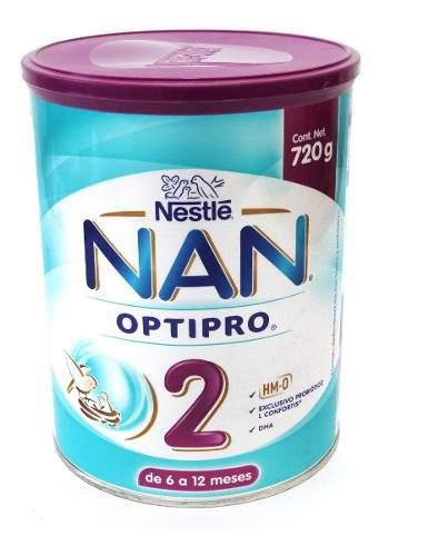 Formula Infantil Nan 2 Pack Con 2 Latas De 720g