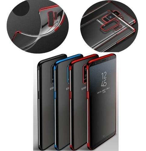 Funda Ultra Slim Transparente S6 S7 S8 S9 S10 Plus Note 9 8