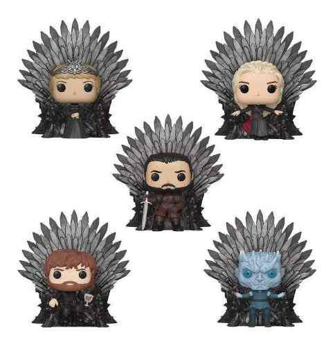 Funko Pop Tronos De Hierro Tyrion Cersei Jon Daenerys King