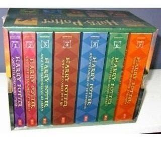 Harry Potter Box Set Colección De 7 Libros Inglés Nuevos