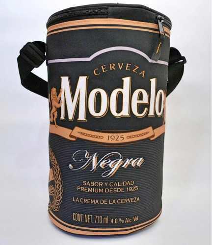 Hielera Negra Modelo Capacidad 16 Latas De 355 Ml