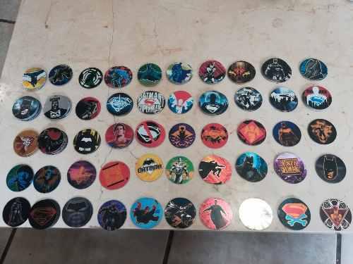 Lote 50 Tazos Batman Vs Superman Nuevos