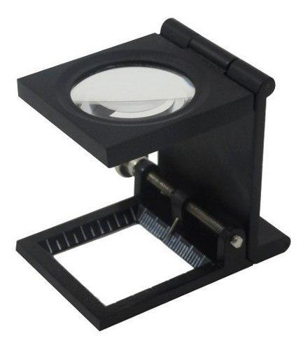 Lupa Cuentahilo Con Marca De 30 Mm Y 8 X Metal/cristal/aguja