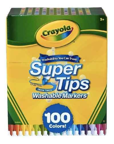 Marcadores Super Tips 100, Marca Crayola