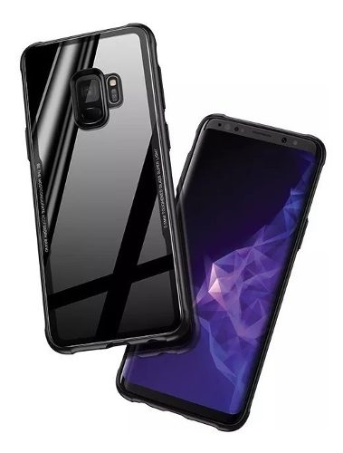 Mica + Funda Transparente Samsung S7 S8 S9 S10 Note 5 8 9