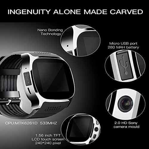 Reloj Inteligente M26 Smart Watch T8 Sim Cámara Chip