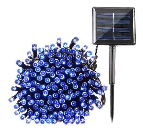 Serie Navideña Solar 12 Metros 100 Leds Automatica 4