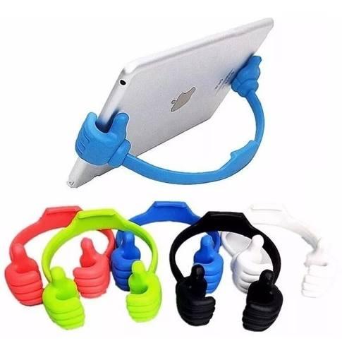 Soporte Telefono Manitas Manita Mano iPhone Galaxy Colores