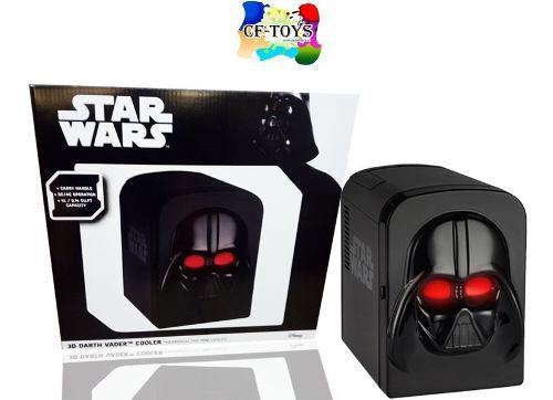 Star Wars Frigobar Refrigerador Darth Vader Ukonic Negro Cf