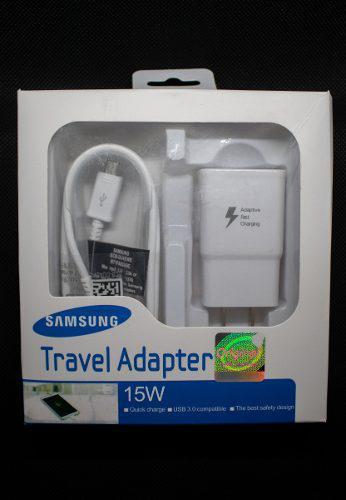 Turbo Cargador Samsung 2.1 A Entrada V8 P/ Todos Los Modelos