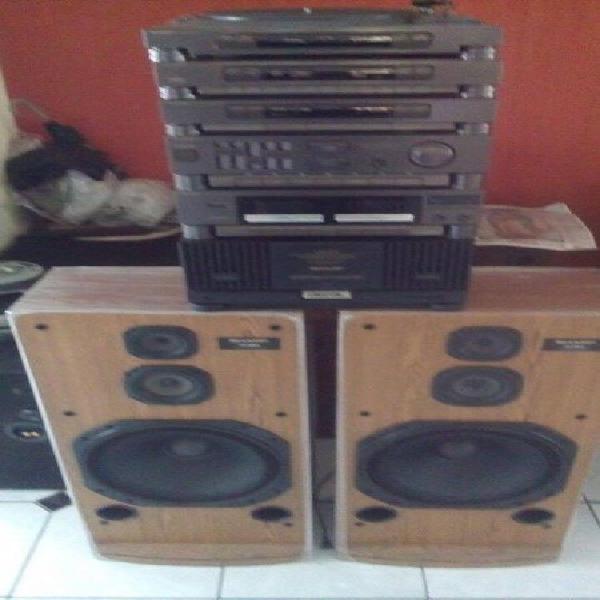 sharp sonido modular amplificador de 300 watts doble