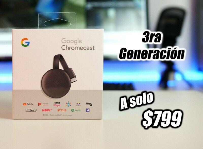 Chromecast 3ra Generación!
