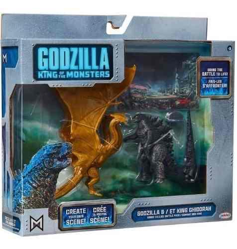 Godzilla King Of The Monsters Godzilla & Et King Ghidorah