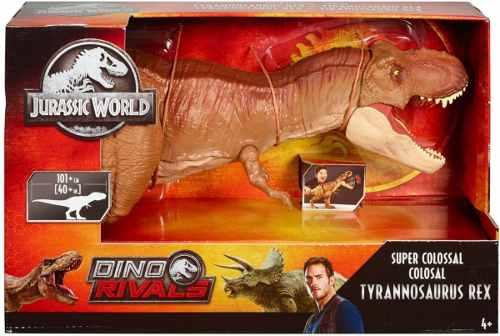 Jurassic World Tiranosaurus Rex Colosal 101 Cm Dino Rivals