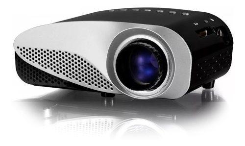 Miniproyector Led Con Sintonizador De Tv Digital 500 Lumen
