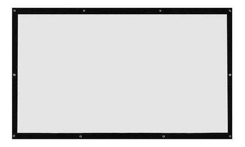 Pantalla Para Proyector 120, Proyeccion Trasera Y Frontal