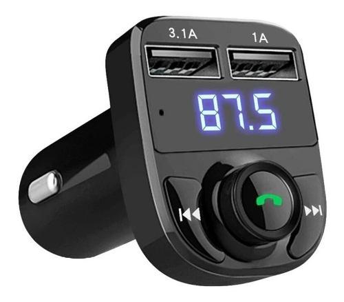 Receptor Bluetooth Y Transmisor Original Con Manos Libre