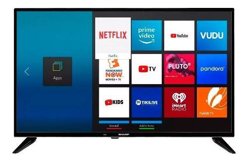 Smart Tv Pantalla 32 Pulgadas Sharp. Netflix Youtube Wifi