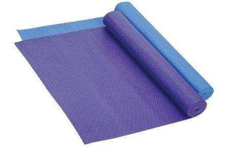 Tapete Para Yoga Pilates Azul O Morado