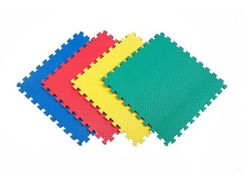 Tapete Yoga Piso Para Gimnasio Piso Gym 1 Pza 60x60 Colores